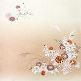 菊にすすき(ローズ)